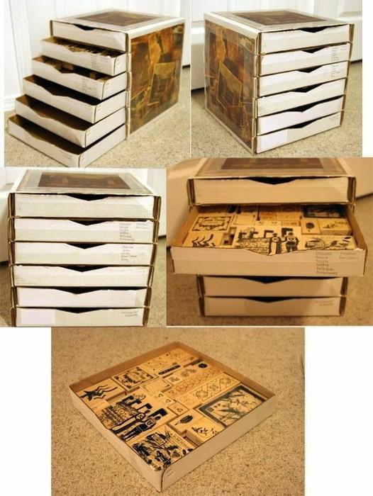 18 (сомнительно) полезных вещей, которые можно сделать их пустых коробок от пиццы