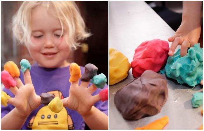 Как самому сделать безопасный пластилин для детского творчества
