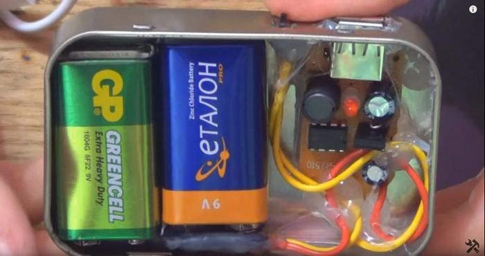Портативные usb зарядные устройства своими руками