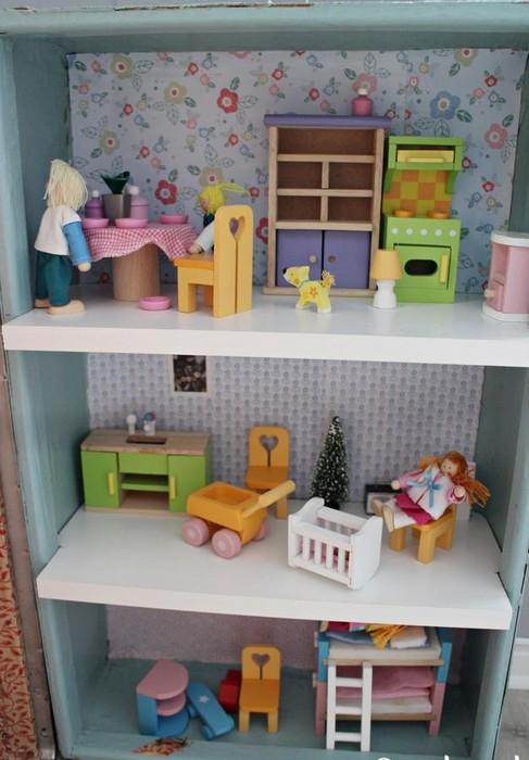 Как сделать кукольный стол фото 618