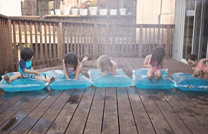Как сделать водяной матрас дома: для детей и не только