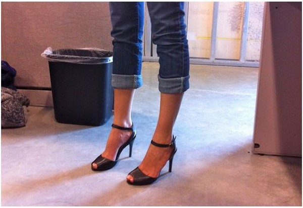 Низкие и высокие каблуки в универсальной пре туфель Day2Night