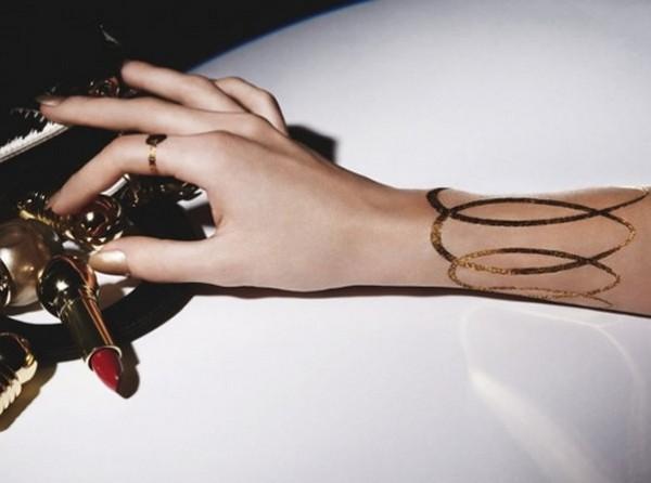 Временные татуировки-украшения «Grand Bal» от Dior
