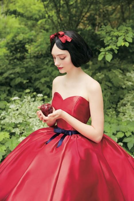 Свадебная коллекция Kuraudia Co и Disney: платье Белоснежки