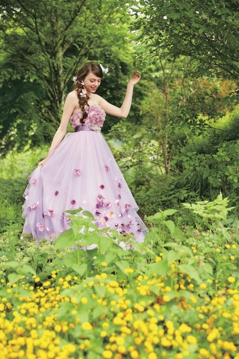 Свадебная коллекция Kuraudia Co и Disney: платье Спящей красавицы Авроры