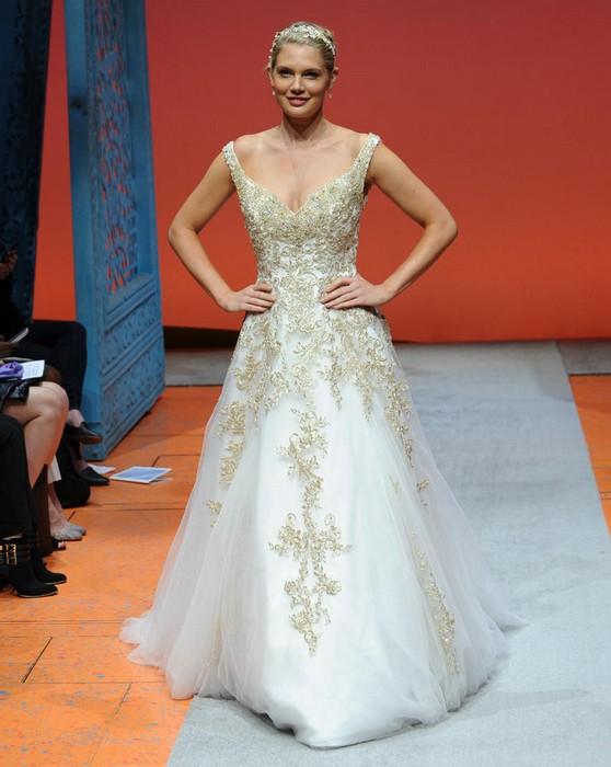 Шикарные свадебные платья по мотивам мультиков Disney: Рапунцель