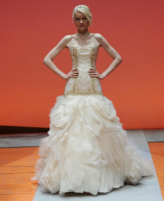 Шикарные свадебные платья по мотивам мультиков Disney: Русалочка