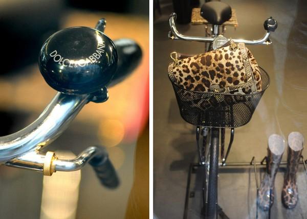 Брендовые велосипеды от Dolce and Gabbana