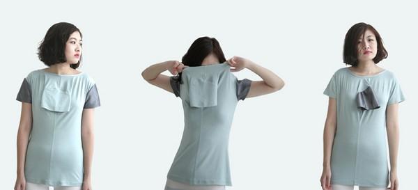 Дизайнерские футболки, «правильные» с любой стороны