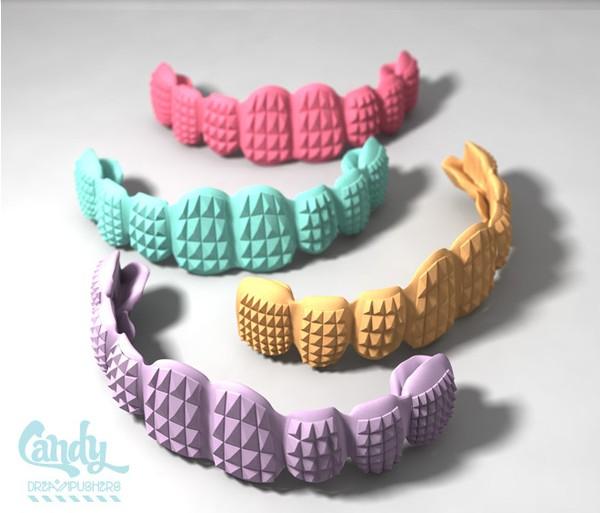 Коллекция конфетных украшений от DreamPushers