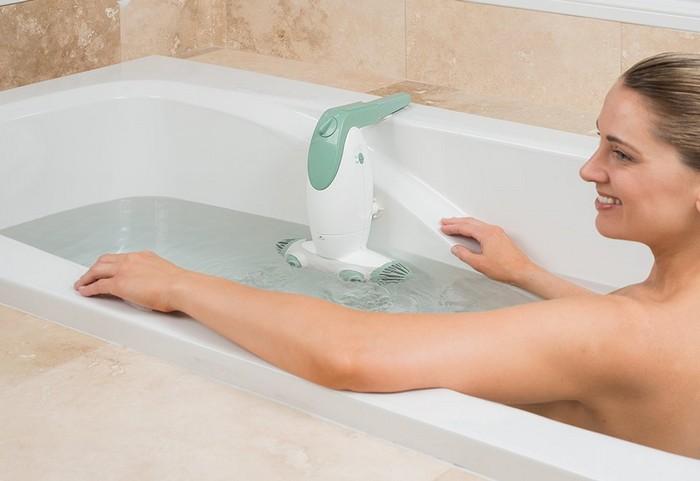 Устройство Dual Jet Bath Spa превращает любую ванну в джакузи