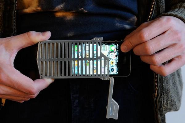 Недешевый дизайнерский чехол для Apple iPhone EXO7