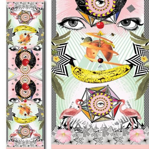 Психоделические шёлковые шарфики от сестёр Eager & Vane:  «Classic»
