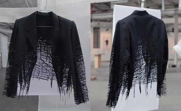«Нарисованная» коллекция одежды от Elvira «t Hart»