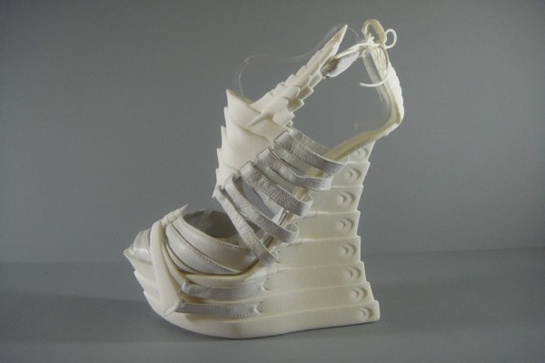Туфли-скелеты из глубоководной коллекции Джанины Эллейн (Janina Alleyne)