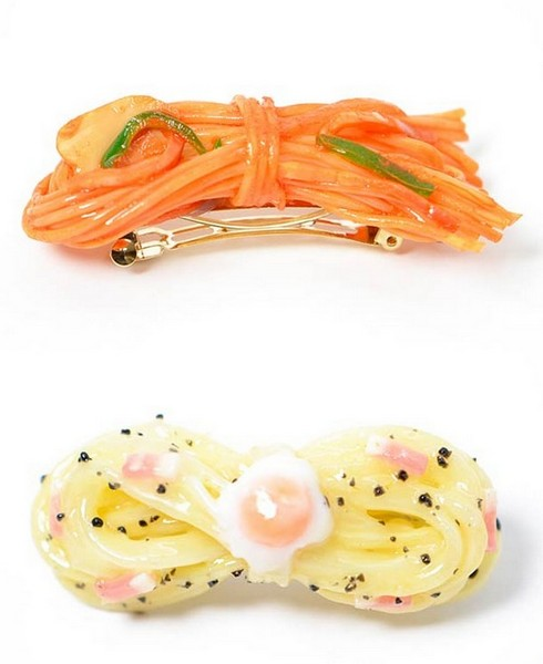 Аппетитно-кавайные аксессуары из Японии от Fake Food Hatanaka