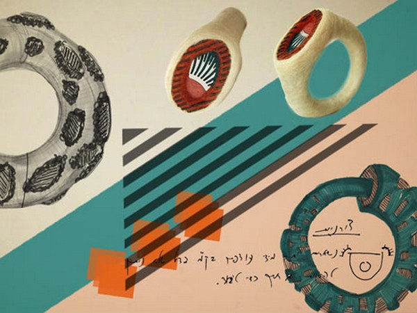 Кольца из компьютерных деталей в необычном обрамлении от Кедми Ханан (Kedmi Hanan)