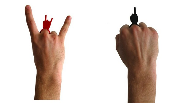 «Finger Rockers» - украшения для бунтарей, рокеров и хамов