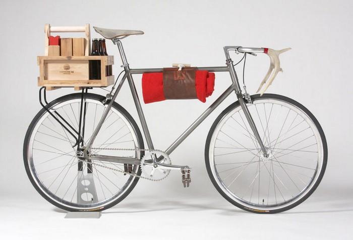 Хипста сон на яву. Ведь какой хипстер не мечтает о велосипеде с красивой ретро рамой и о ручном олене?