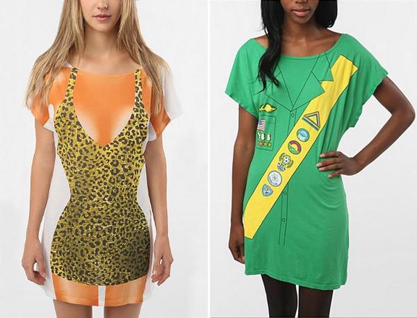 Простые, но оригинальные костюмы на Хэллоуин для девушек от Urban Outfitters
