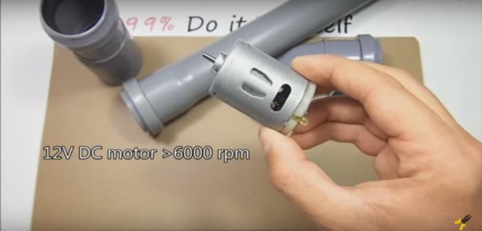 Как сделать портативную электрокосу из подручных материалов