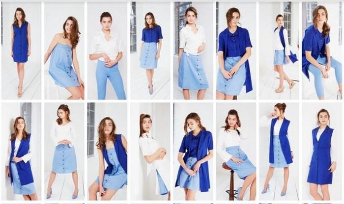 Дебютная коллекция  Honest-Rosie: 30 стильных образов из всего 6 элементов одежды