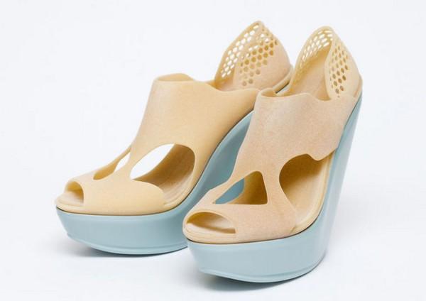Креативная обувь, распечатанная на 3D-принтере
