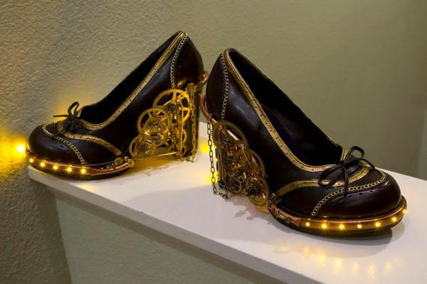 Туфли в стиле «современный стимпанк»