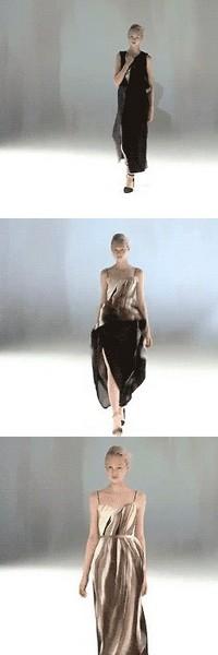 «Волшебные» платья-трансформеры от Хуссейна Чалаяна (Hussein Chalayan)