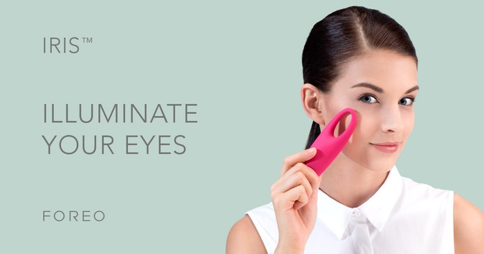 IRIS – массажер для кожи вокруг глаз от Foreo