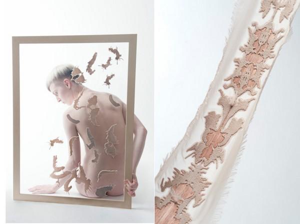 Дизайнерские украшения Inlaid Skin обеспечат красивое шрамирование на один вечер