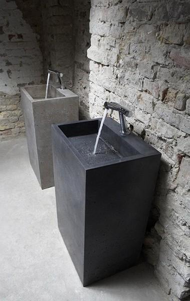 Примеры «бетонного» дизайна от Ivanka Studio