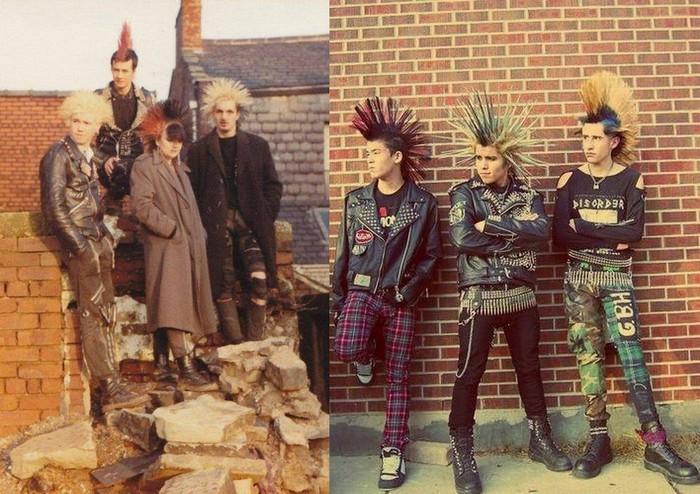 … а кто-то выбрал агрессивный «панк».