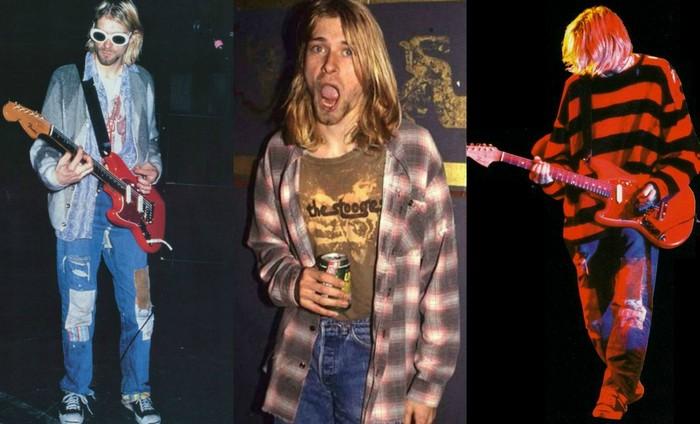 Курт Кобейн и его любимые джинсы.