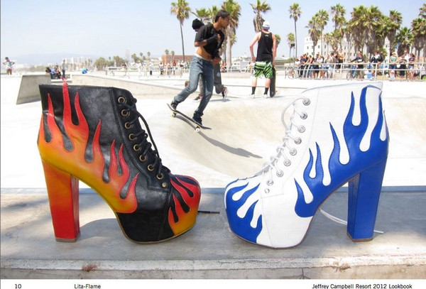 Креативная брендовая обувь от Джефри Кэмпбэлла  (Jeffrey Campbell)