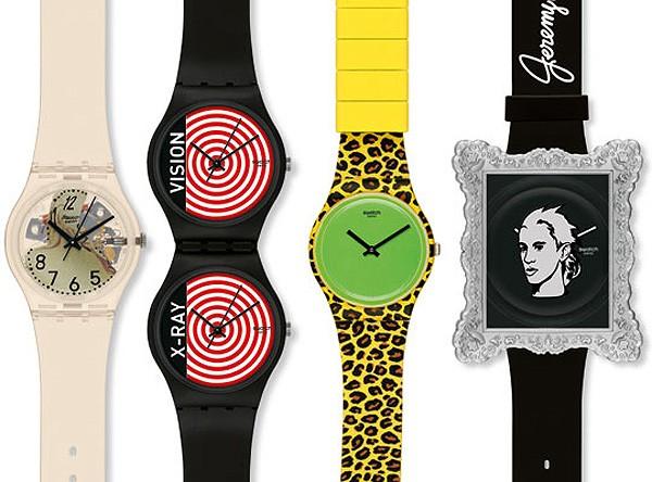 Свежая коллекция совместного креатива Джереми Скотта и Swatch