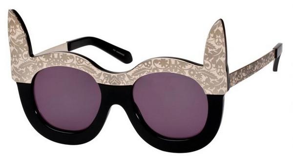 Солнцезащитные очки с милыми кроликами от Карен Уолкер (Karen Walker)