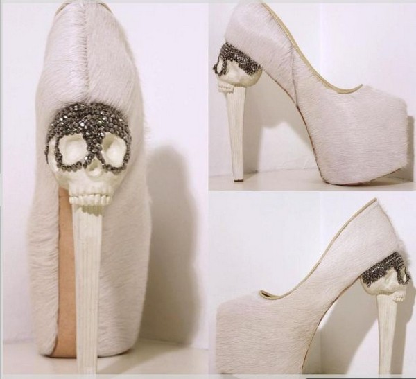 «Анатомическая» коллекция дизайнерской обуви от Кёрмита Тезоро (Kermit Tesoro)