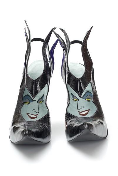 Коллекция фэнтезийных туфель, посвящённая главным диснеевским злодейкам: Малефисента