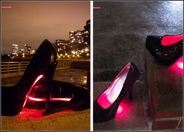 Стильные туфли Runway Light