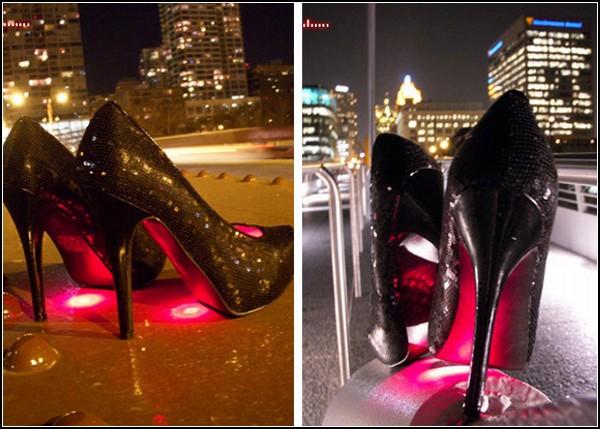 Стильные туфли Runway Light: Spotlight