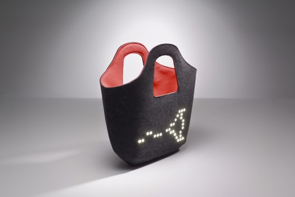 Позитивная сумка ledBAG от польских дизайнеров