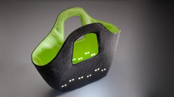 Позитивная сумка ledBAG от польских дизайнеров.