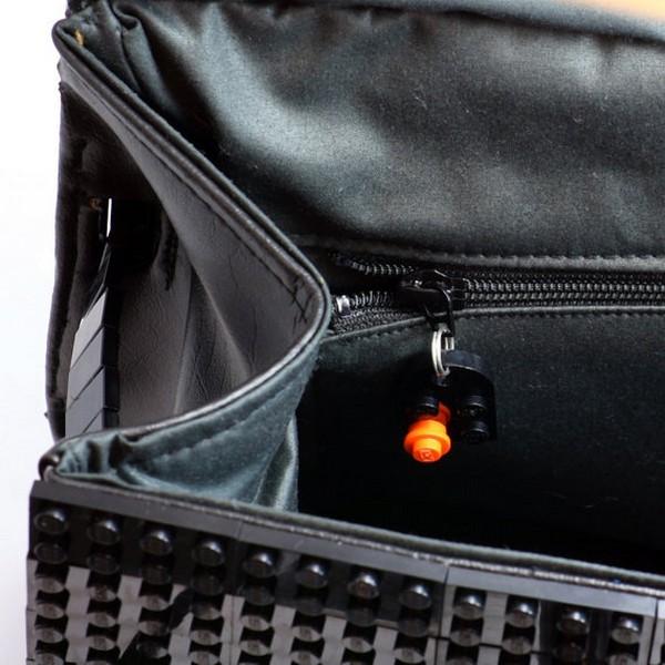 Копия знаменитой сумки Hermes Birkin из пластикового конструктора Lego