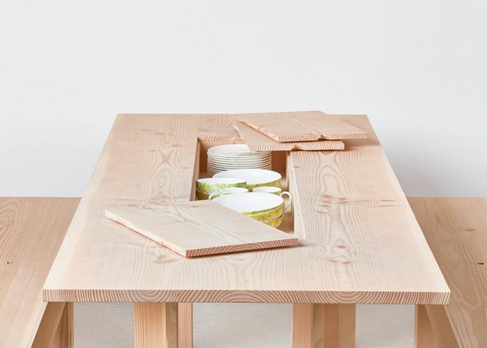 Чем запомнился London Design Festival-2015: деревянная мебель Max Lamb