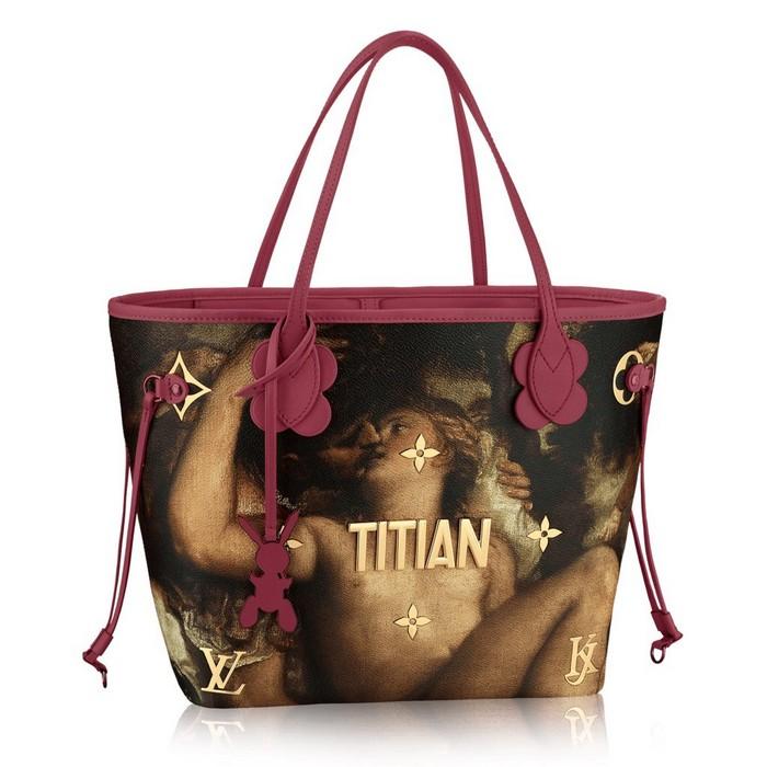 «Классическая» коллекция сумок от Louis Vuitton и Джеффа Кунса