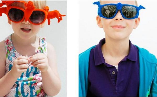 Оригинальные очки от музея MUDAM, дизайнера Emilie Voirin и простых обывателей