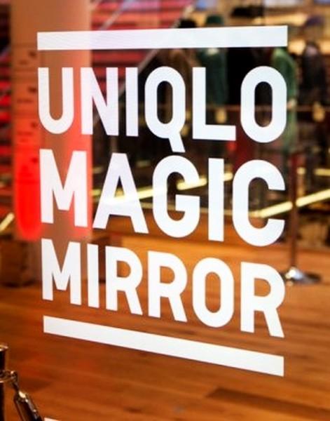 «Magic Mirror» от Uniqlo: зеркало, которое само вас переоденет