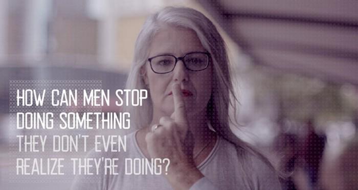 Manterrupting – «счётчика прерываний» женской речи мужчинами