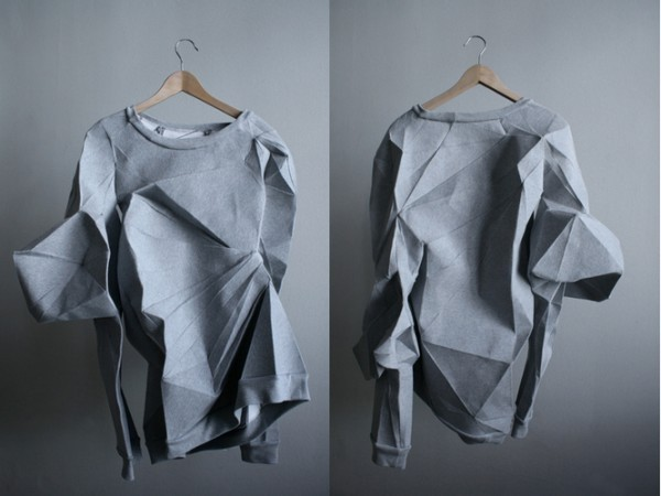 Скульптурные футболки и свитеры The T-Shirt Issue